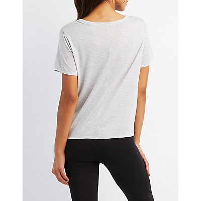 Nap Queen Scoop Neck Tee