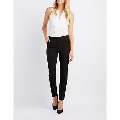 Ruffle Pocket Trousers