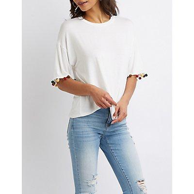 Pom Pom Tee Shirt