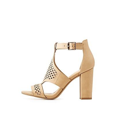 Caged Dress Sandals