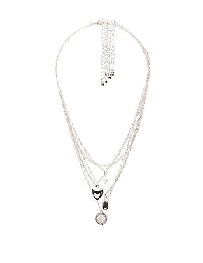 Heart Locket Layering Necklaces