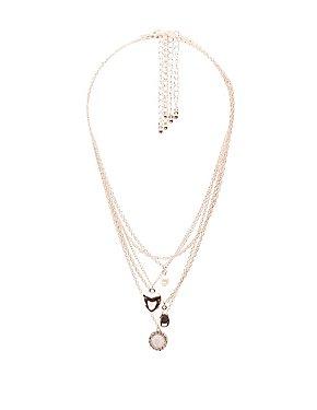 Heart Locket Layering Necklaces