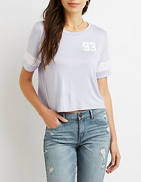93 Graphic Crop Tee