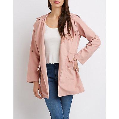 Lightweight Anorak Hooded Jacket