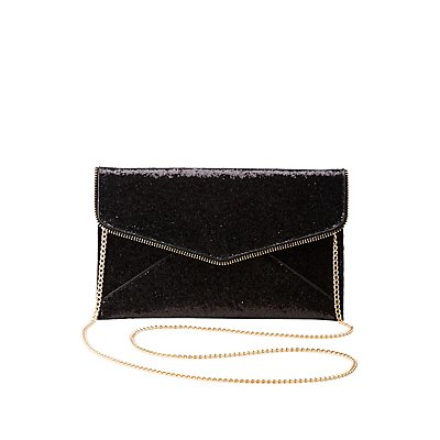 Glitter Envelope Clutch