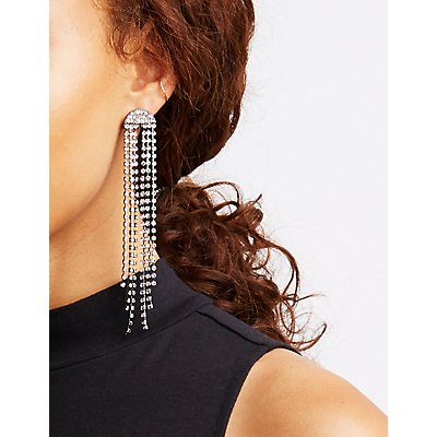 Rhinestone Stud & Drop Earrings