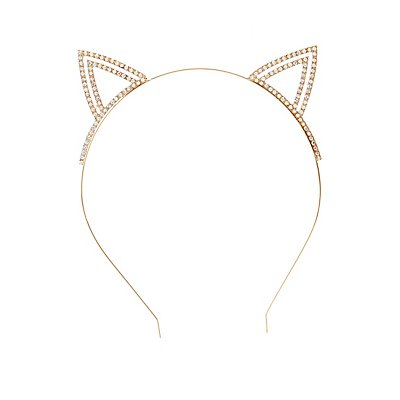 Rhinestone Cat Ear Headband