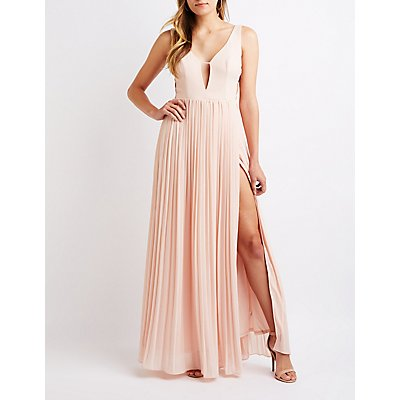 Caged Side Maxi Dress