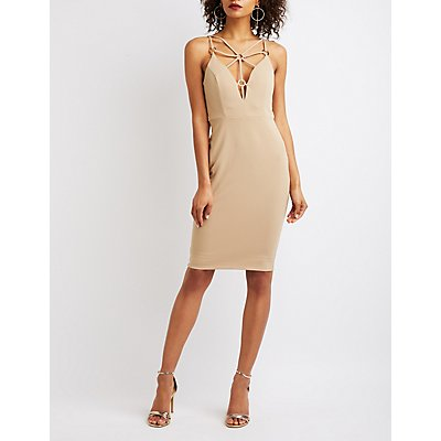 Caged Bodycon Dress