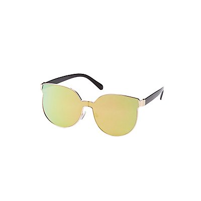 Metal Frame Cat Eye Sunglasses at Charlotte Russe in Cypress, TX | Tuggl