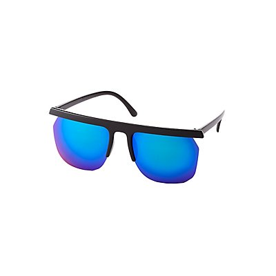 Square Shield Sunglasses at Charlotte Russe in Cypress, TX | Tuggl