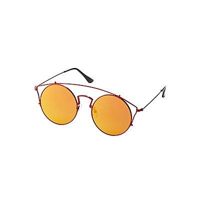 Oversize Brow Bar Sunglasses