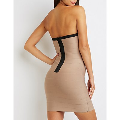 Bandage Mini Bodycon Dress