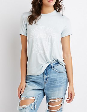 Mystical Distressed Tee Shirt