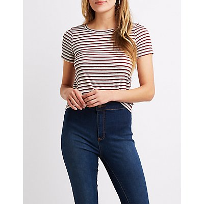 Striped Fitted Tee