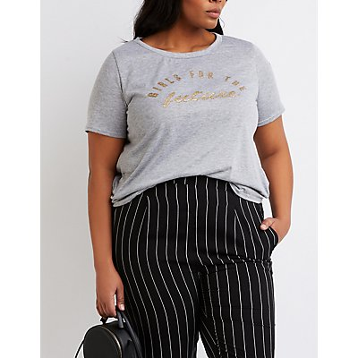 Plus Size Graphic Tee