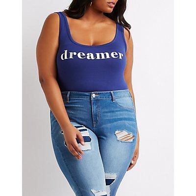 Plus Size Holographic Dreamer Bodysuit