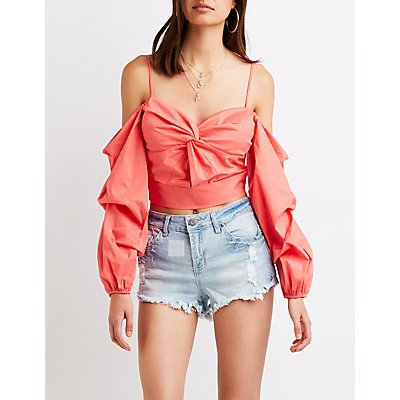 Refuge Mid-Rise Shortie Denim Shorts