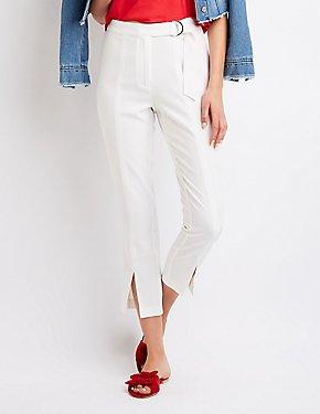 Belted Skinny Pants