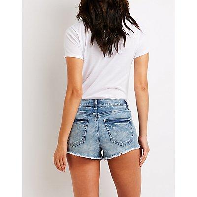 Refuge High Rise Cheeky Shorts