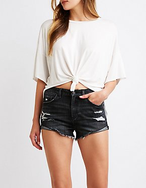 Refuge Hi-Rise Cheeky Shorts
