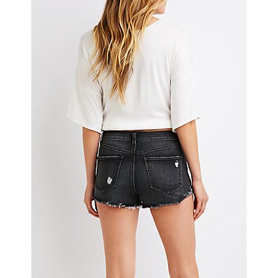 Refuge Hi Rise Cheeky Shorts