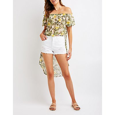 Refuge High Rise Cheeky Shorts