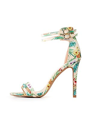 Dual Ankle Strap Sandals