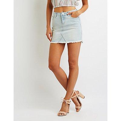 Denim Mini Skirt
