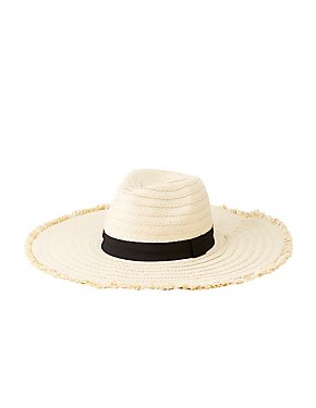 Straw Floppy Hat