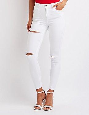 Cello High Waist Skinny Jeans
