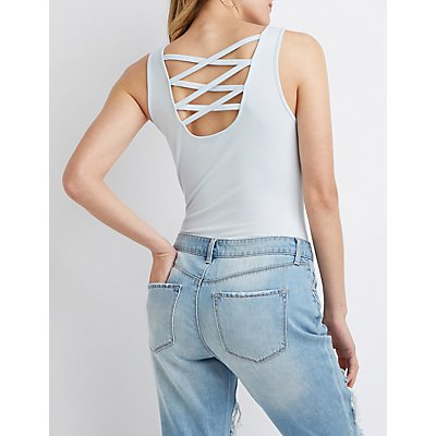 Caged Back Bodysuit