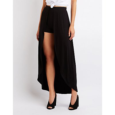 Layered Maxi Shorts
