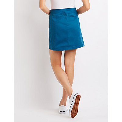 Button-Up Skirt