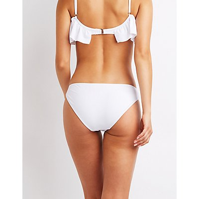 Ruched Bikini Bottoms