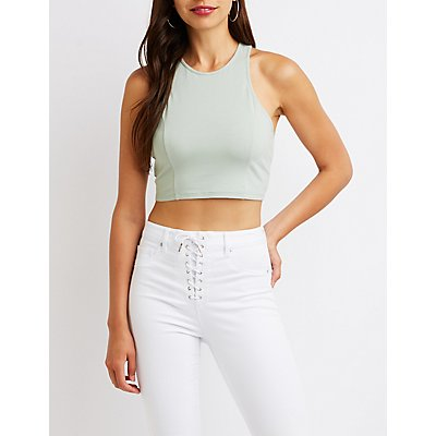 Muscle Tank Crop Top