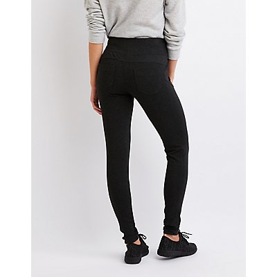 Ponte Knit Strecthy Leggings
