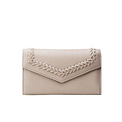 Woven Tri-Fold Wallet