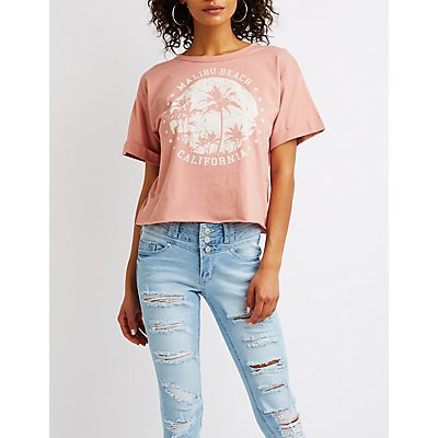 Malibu Beach Graphic Tee