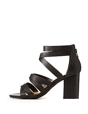 Bamboo Caged Dress Sandals