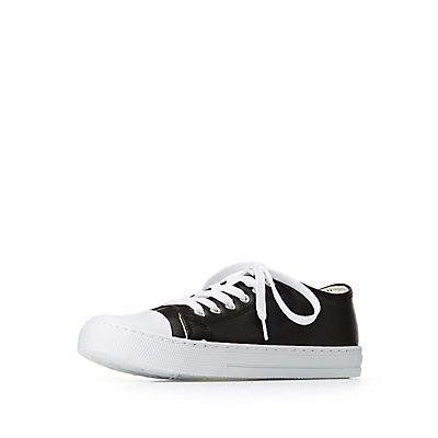 Qupid Lace Up Sneakers