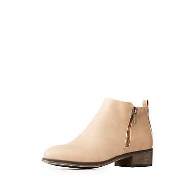 Bamboo Ankle Booties