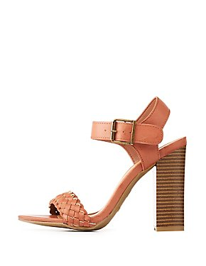 Bamboo Braided Open Toe Sandals