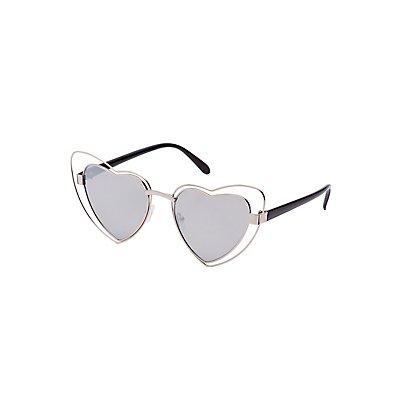 Heart Shape Sunglasses