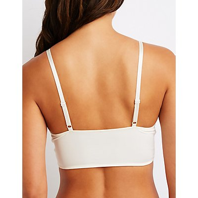 Scalloped Longline Bralette