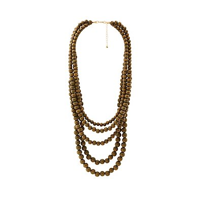 Multi-Beaded Layering Necklace