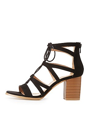 Lace Up Ankle Strap Sandals
