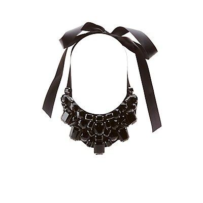 Bejeweled Bib Necklace