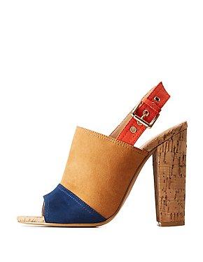 Cork Mule Sandals
