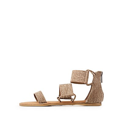 Bamboo Strappy Band Sandals